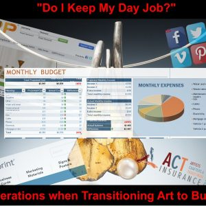 Do I Keep My Day Job? Considerations when Transitioning Art to Business @ (Virtual) Brookfield Craft Center