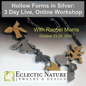 Hollow Forms in Silver (Live, Online Workshop) @ Your home studio