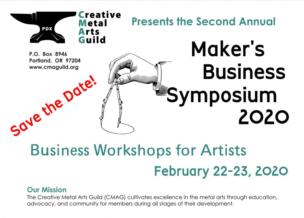 Maker's Business Symposium (Hosted by CMAG) @ Multnomah Arts Center